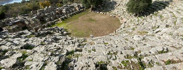 Kaunos Anfi Tiyatro is one of Antik kentler ve  müzeleri.