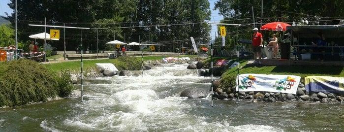 Parc Olimpic del Segre is one of Lugares guardados de David.