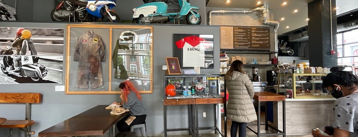 Cafe Lambretta is one of SF to try.