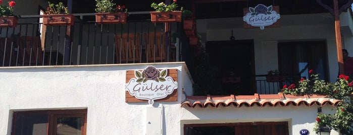 gülser boutique otel is one of Lieux sauvegardés par Serhat.