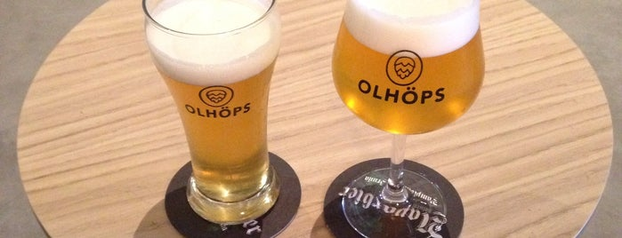 Olhöps is one of To Drink.