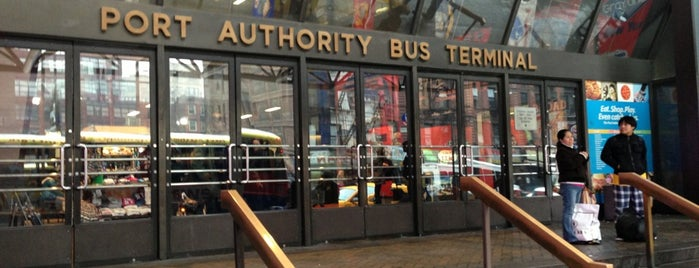 Port Authority Bus Terminal is one of Places in NY.
