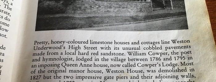 Cowpers Oak is one of Carl'ın Beğendiği Mekanlar.