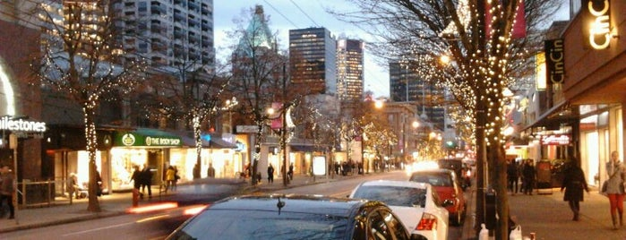Robson Street is one of Vancouverite - Best Places In and Around Vancouver.