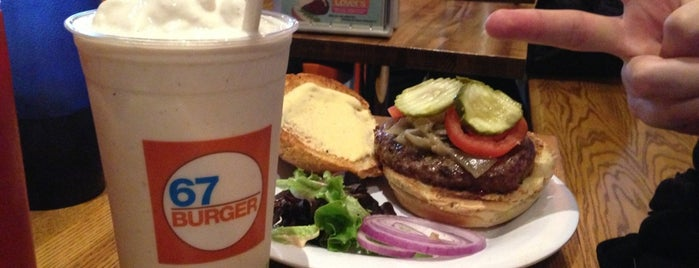67 Burger is one of NYC Burgers.