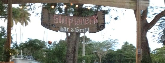 Shipwreck Bar & Grill is one of Puerto Rico.