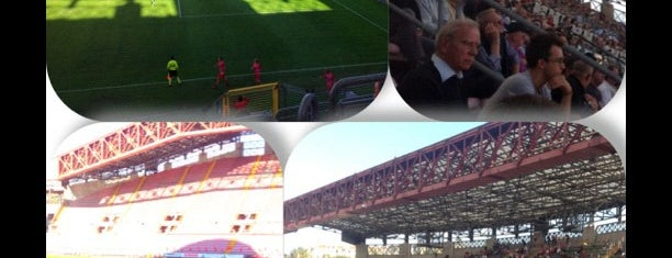 Stadio Nereo Rocco is one of International Sports~Part 2....
