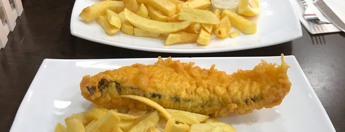 Ben's Traditional Fish & Chips is one of Locais curtidos por Ade.