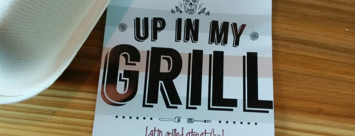 Up In My Grill is one of Markets and Street Food.