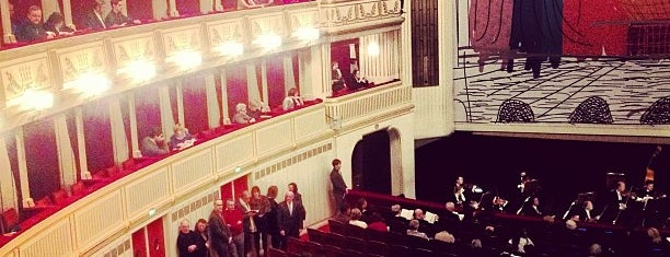 Венская государственная опера is one of Wien / Vienna.