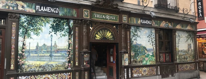 Villarosa Bar  Flamenco Live is one of Madrid!.