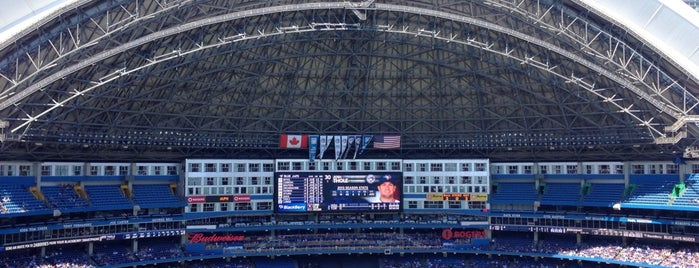 Rogers Centre is one of Sports.