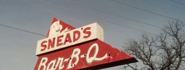 Snead's Bar-B-Q is one of Do: Kansas City ☑️👌.