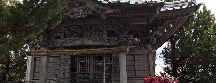 大瀬神社 is one of 伊豆.