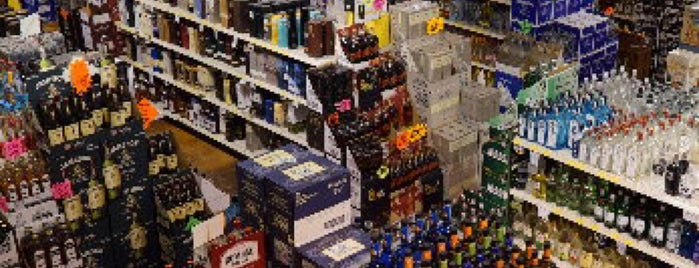 Mega Package Store is one of Liquor Stores.