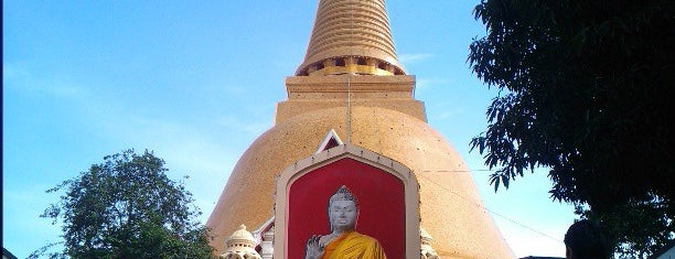 Phra Pathom Chedi is one of World Heritage Sites List.