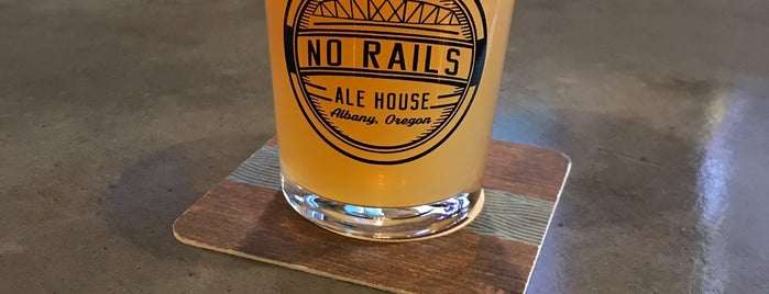 No Rails Ale House is one of Albany.