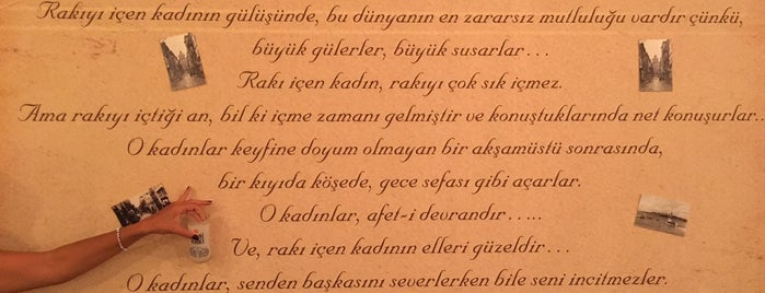 Kaç Kadeh Asmalı Meyhane is one of Ojoe 님이 저장한 장소.