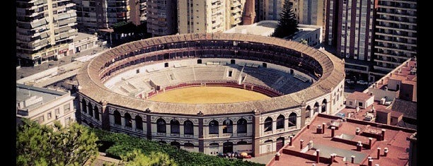Plaza de Toros 'La Malagueta' is one of Malaga, Spain.