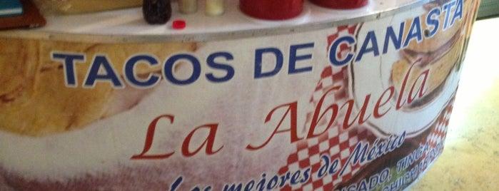 Tacos de Canasta La Abuela is one of Bas.