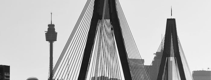 ANZAC Bridge is one of Sydney Favorites.