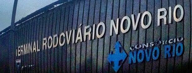 Terminal Rodoviário Novo Rio is one of Dade'nin Beğendiği Mekanlar.