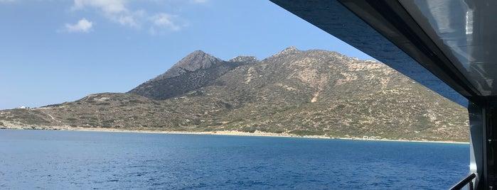 Psili Ammos is one of Amorgos.