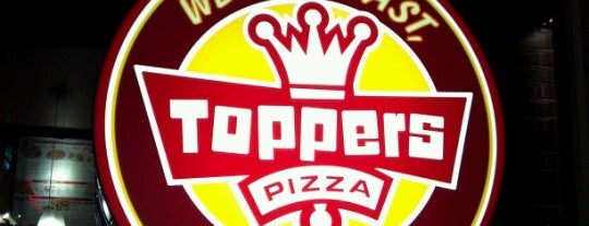 Toppers Pizza is one of To-Nom's.