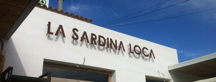 La Sardina Loca is one of Ibiza, baby!.