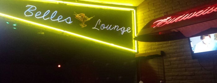 Belle's Lounge is one of Colorado Springs Dive Bars.