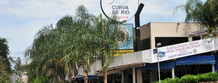 Restaurante Curva de Rio is one of Voltar.