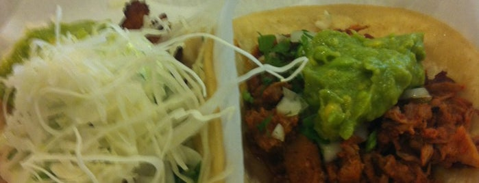 Pinche Taqueria is one of New Office, More Lunch.