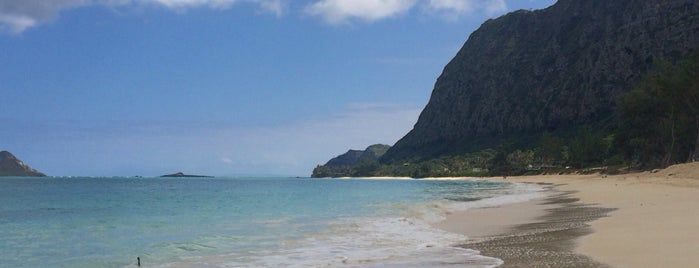 Waimanalo Beach Park is one of Posti che sono piaciuti a Samaher.