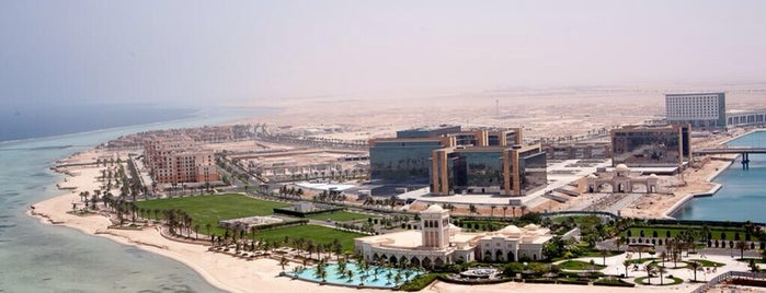 King Abdullah Economic City is one of Samaher 님이 좋아한 장소.