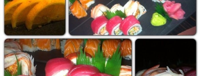 GOLD Sushi Club is one of Samaher 님이 좋아한 장소.