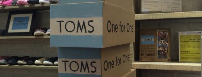 TOMS is one of Posti che sono piaciuti a Samaher.