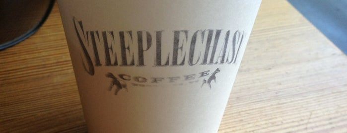 Steeplechase Coffee is one of Best in NYC coffee.