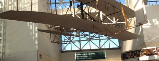 Dayton International Airport (DAY) is one of Fly me to the moon.