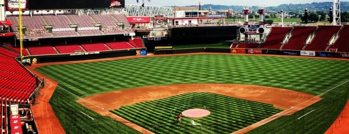 Great American Ball Park is one of Baseball Stadiums To Visit....
