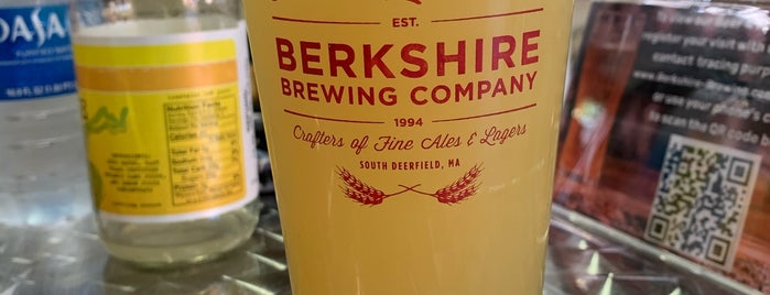 Berkshire Brewing Company is one of Massachusetts Craft Brewers Passport.
