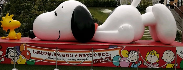Snoopy Museum Tokyo is one of สถานที่ที่ la_glycine ถูกใจ.