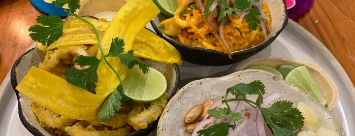 Barrio Ceviche Seafood Kitchen is one of América Latina.