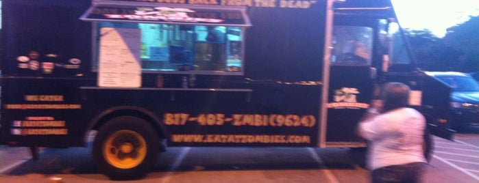 Zombie's Food Truck is one of DFW Food Truck ❤.