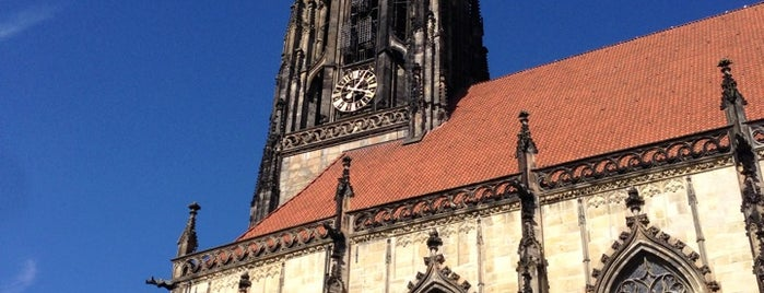 St. Lamberti is one of Münster - must visit.