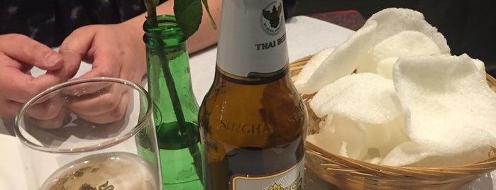 Regional Thai Taste is one of London restaurants/bars visited.