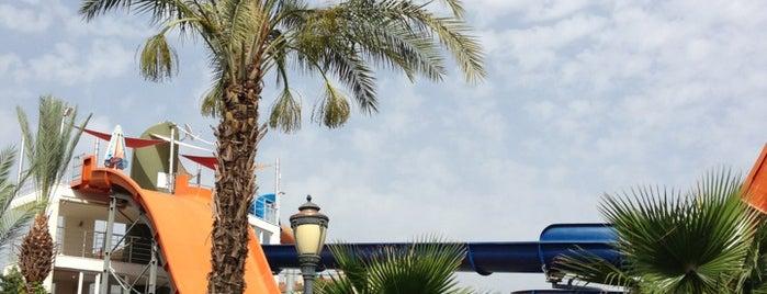 Alanya Aquapark is one of Lugares favoritos de Ahmet Hamdi.