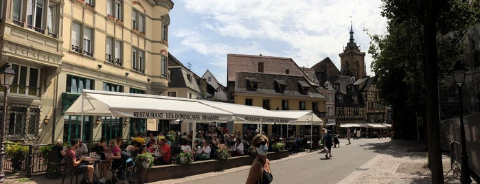 Place des Dominicains is one of Strazburg Frankfurt Heidelberg.