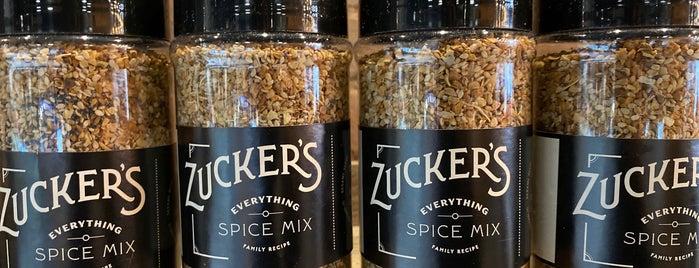 Zucker's Bagels & Smoked Fish is one of Tempat yang Disukai Josh.