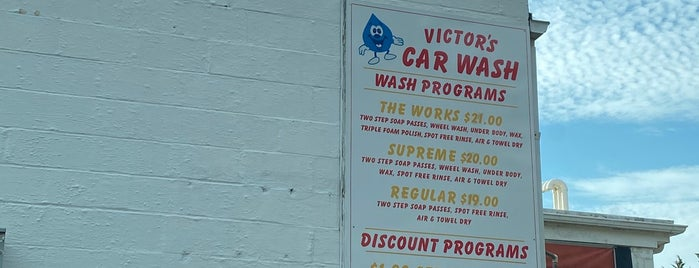 V&V Auto Service and Victor's Car Wash is one of Out East.