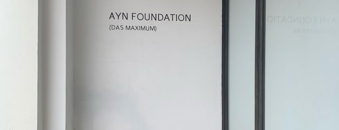 Ayn Foundation is one of MRF.
